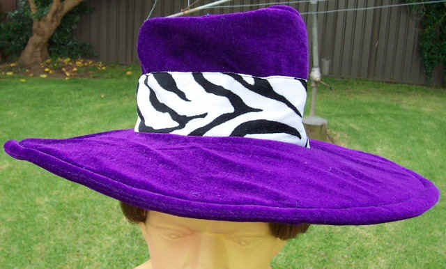 Pimp Hat - Purple